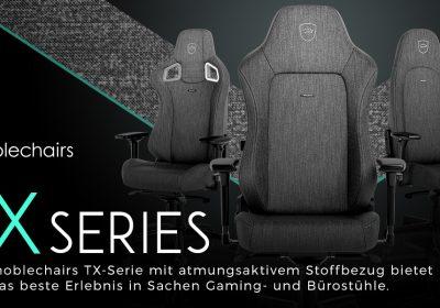 noblechairs TX-Serie – Der Gaming-Stuhl im Detail