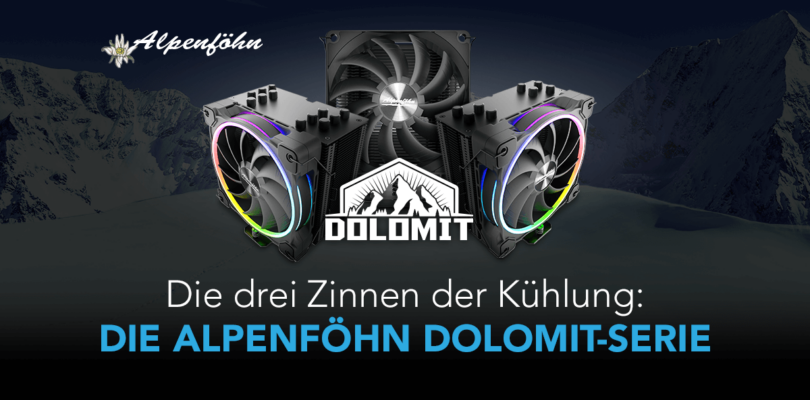 Alpenföhn Dolomit – Der edle CPU-Kühler im Detail