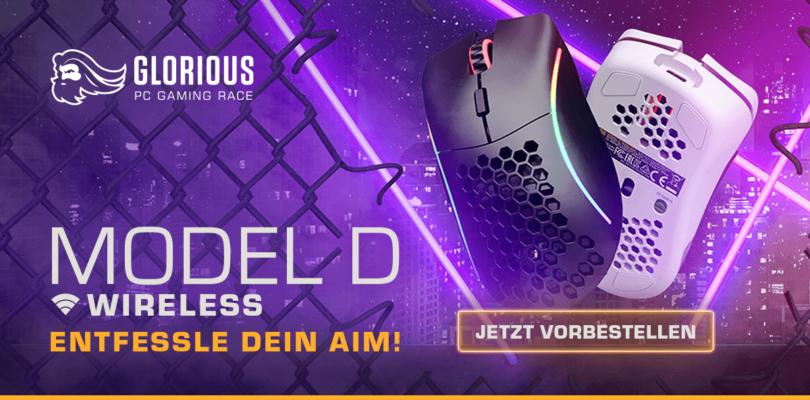 Glorious Model D Wireless – Die kabellose Gaming-Maus im Detail