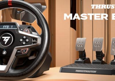 Thrustmaster T248 – Neues Force-Feedback-Rennlenkrad angekündigt