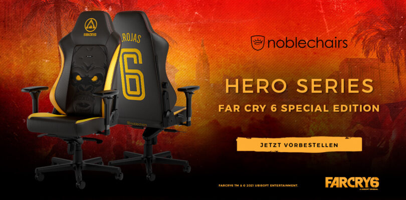 noblechairs HERO – Die Far Cry 6 Special Edition im Detail
